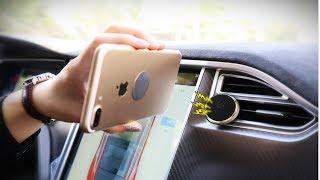 магнитный держатель для смартфона в автомобиль