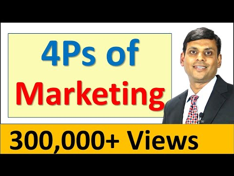 7. 4Ps of Marketing / Marketing Mix - Marketing Management Lecture by Prof. Vijay Prakash Anand