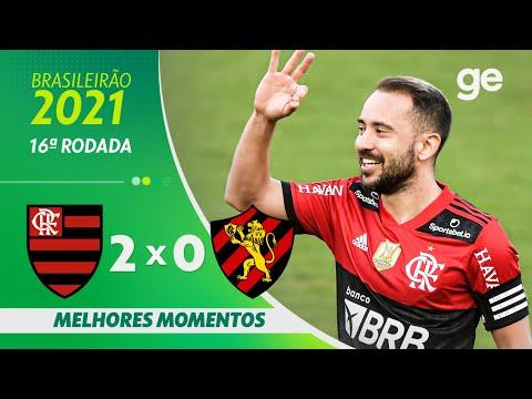 FLAMENGO 2 x 0 SPORT | MELHORES MOMENTOS | 16ª RODADA BRASILEIRÃO 2021 | ge.globo