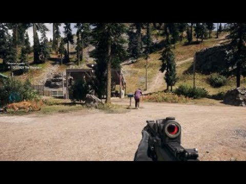 Far Cry® 5 gameplay walkthrough - Here Kitty, Kitty - Unlock Peaches