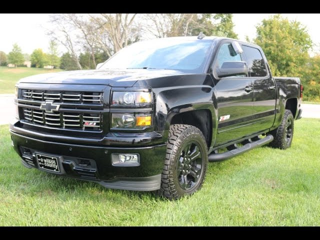 sold 2015 chevrolet silverado 1500 midnight edition ltz z71 crew cab wilson county chevy. Black Bedroom Furniture Sets. Home Design Ideas