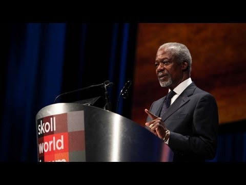 Kofi Annan - The Courage To Change - 2013 Skoll World Forum Closing Remarks