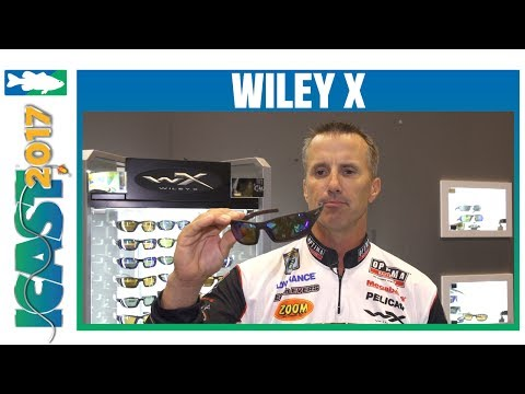 fea2cf4f54cc Wiley X Enzo, Twisted Matte Black Hickory Sunglass & Emerald Mirror Lenses  | ICAST 2017 - YouTube