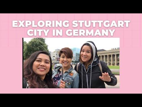 Exploring Stuttgart City In Germany