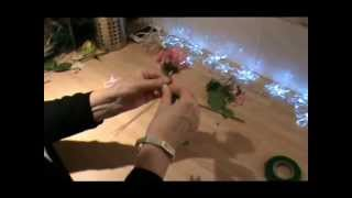 Wedding Flowers - How to make a Vintage-inspired Wrist Corsage(Part of the Campbell's Flower School series of 'How to' tutorials, this video shows you how to design and make a wrist corsage for weddings, proms, balls or ..., 2012-03-26T00:02:23.000Z)