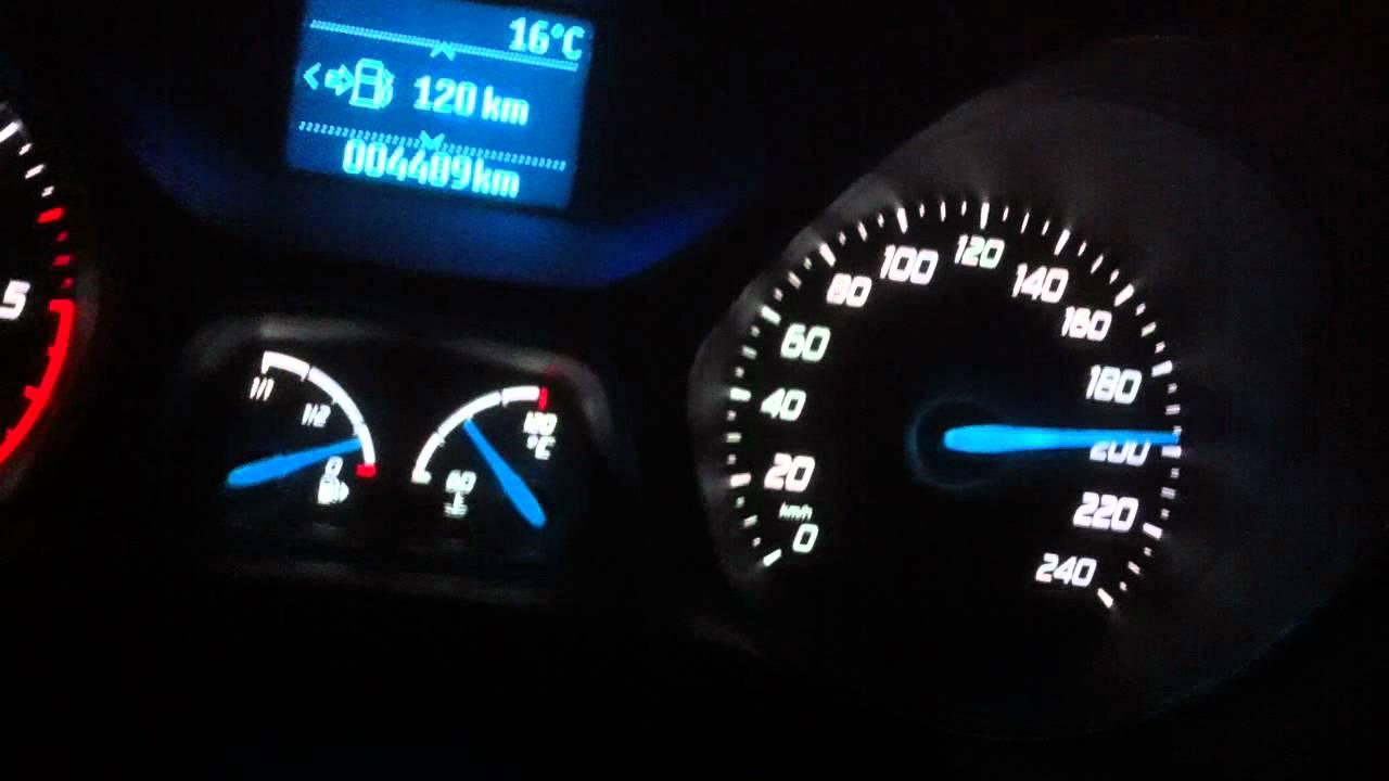 Ford Focus 2011 1 6tdci 115cv Top Speed 213