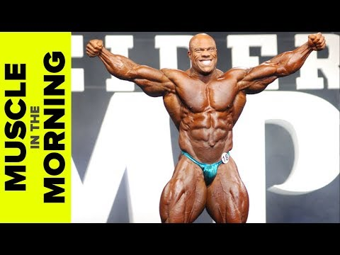 Phil Heath HAMMERING Arms! Muscle in the Morning (11/17/17)