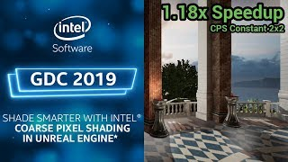 Shade Smarter with Coarse Pixel Shading in Unreal Engine
