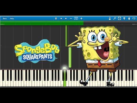 Indoors (Spongebob Squarepants) - Synthesia Piano Tutorial