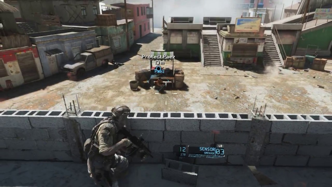 Tom Clancy's Ghost Recon Future Soldier Gameplay - YouTube