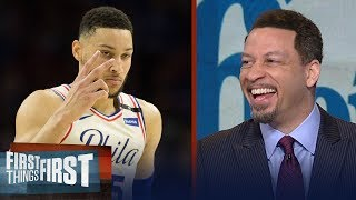 Chris Broussard's 4 reasons Philly cruised past Heat, Talks Boogie Cousins | FIRST THINGS FIRST