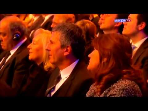 Lionel Andres Messi Winner four Fifa Ballon d'or 2009-2010-2011-2012 (HD)