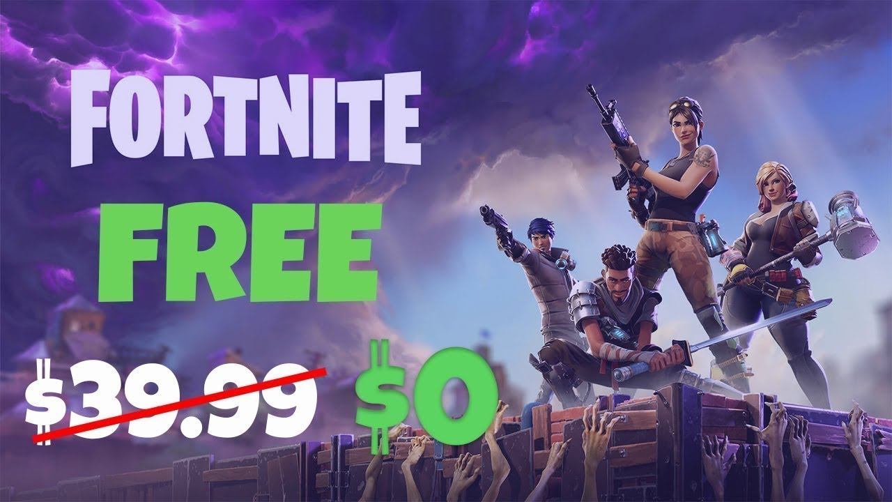 Fortnite Save The World For FREE! PvE Code Giveaway! - YouTube