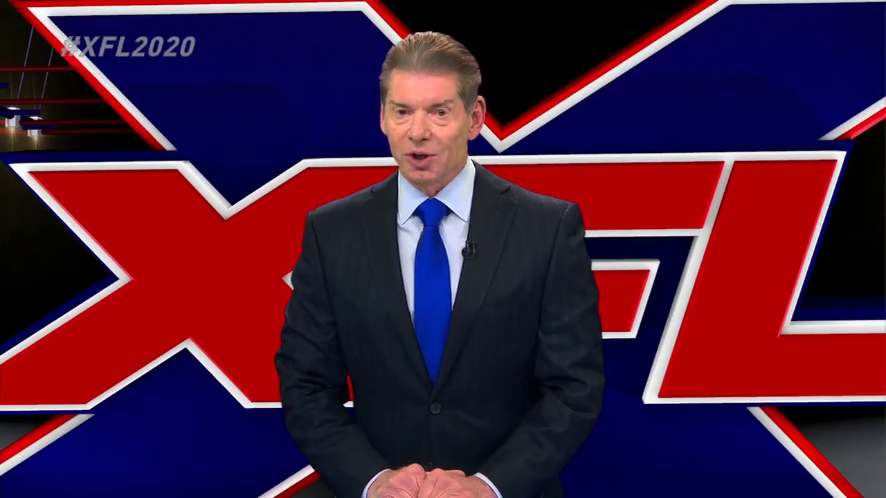 WWE's Vince McMahon announces he will relaunch XFL in 2020 [Press ...