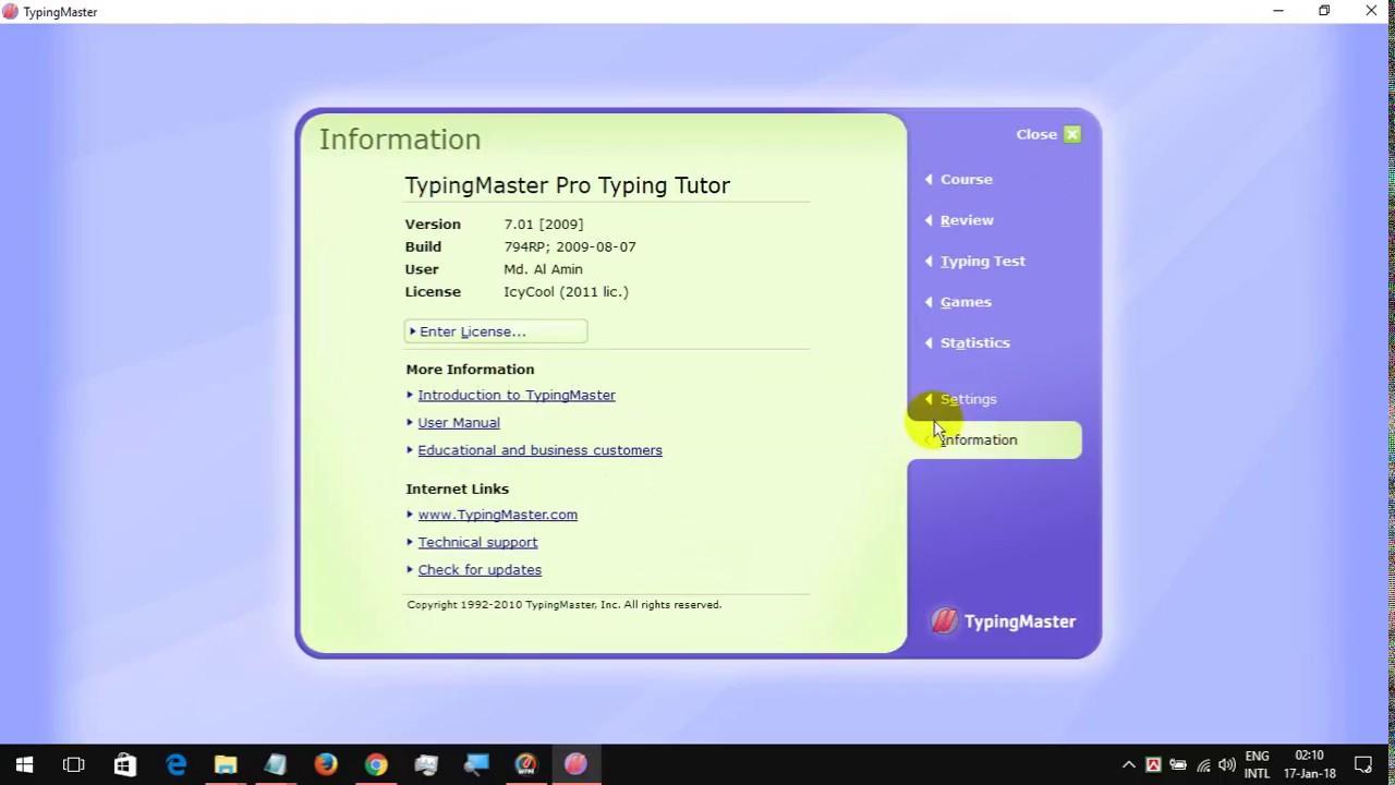 typing master 10 crack version free download