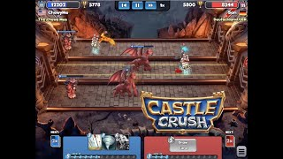 1st Time Using Spiked Statue = New Trophy High (after league reset)! Castle Crush #88