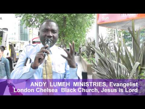 The kingdom of heaven is like this. London SW7 Fire, ANDY LUMEH Evangelist