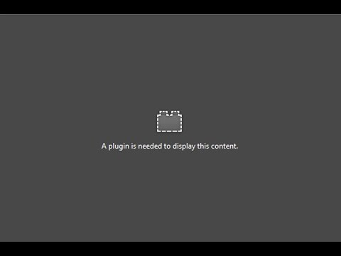 Fix: A plugin is needed to display this content - Mozilla Firefox