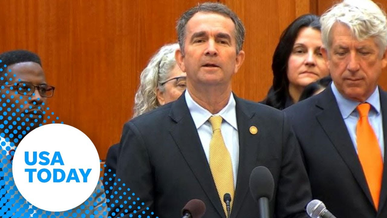 Virginia Governor Ralph Northam speaks on gun violence   USA TODAY