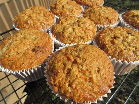 MORNING GLORY MUFFINS - How to make MORNING GLORY MUFFINS Recipe
