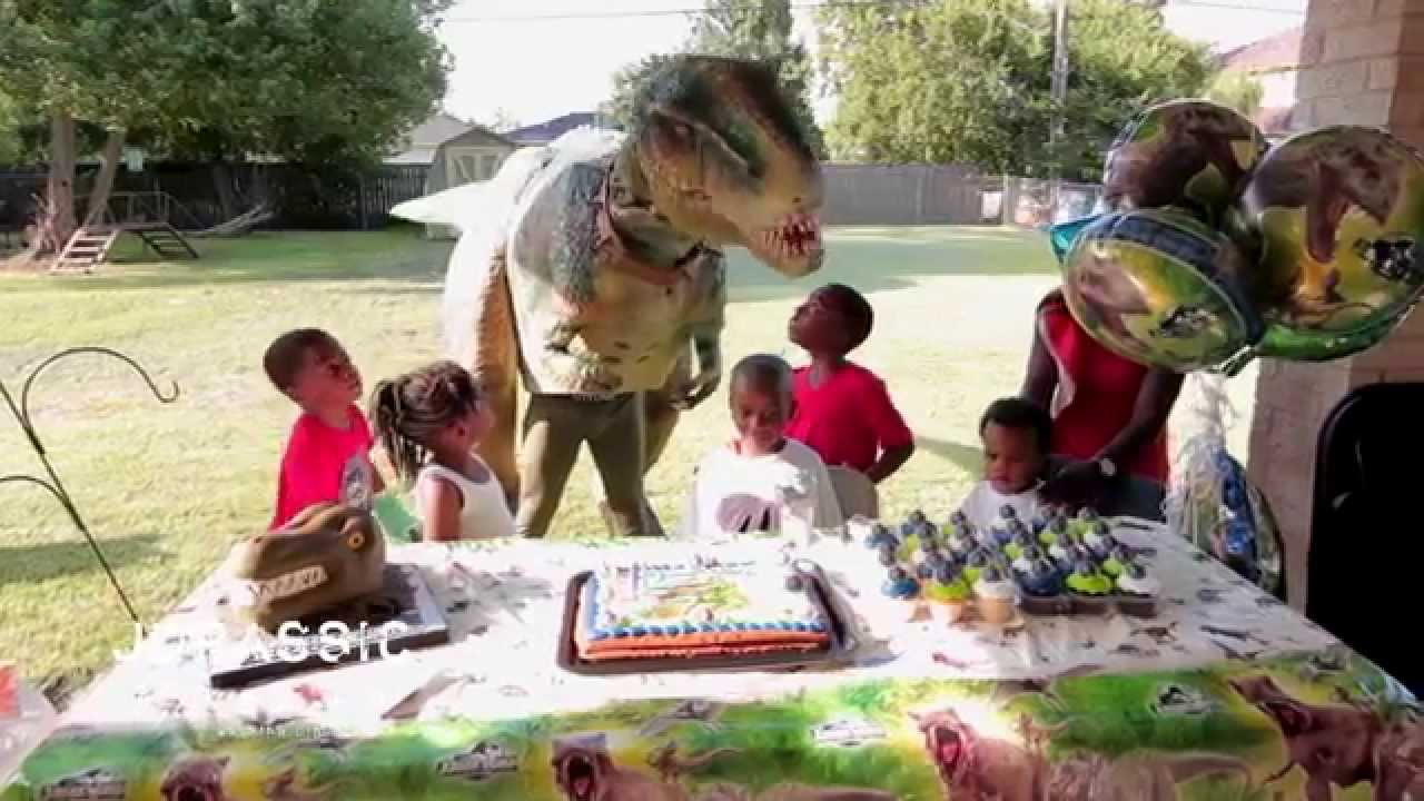Truths Jurassic Extreme Birthday Party Walking Dinosaur Costumes