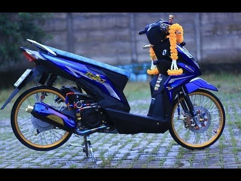 Modifikasi Honda beat new 2018