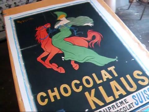 Leonetto Cappiello, Linen Backing the Poster (part 3)