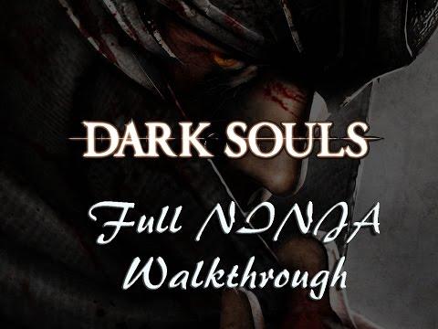 Dark Souls Full NINJA Walkthrough - Part 6 --- To The Depths (XBox 360)