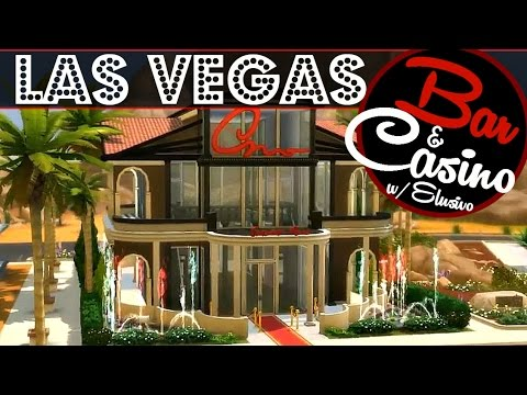 Sims 4 House Build Las Vegas Bar Amp Casino W Elusivo