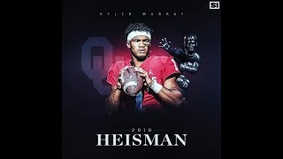 KYLER MURRAY: 2018 Heisman Run