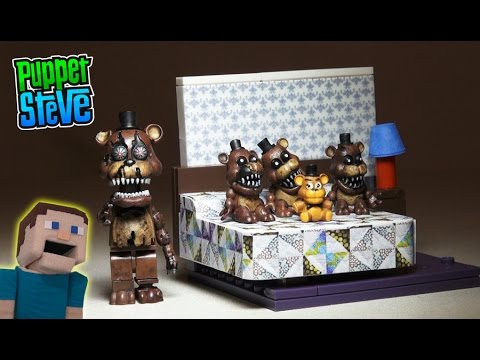 Five Nights at Freddy's fnaf NIGHTMARE FREDDY The Bed ...