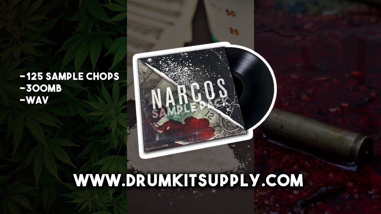 Narcos Sample Pack - Drum Kit Supply - FL Studio x Akai MPC ...