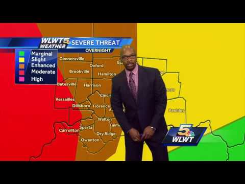 Severe Weather Expected Overnight