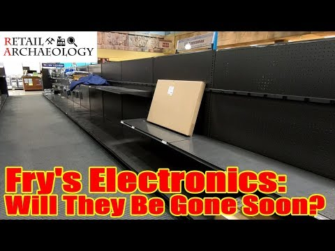 Fry's Electronics: Will They Be Gone Soon? | Retail Archaeology