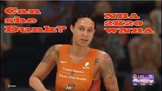 Can Brittney Griner DUNK on NBA 2K20?!!