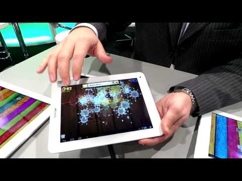 Hands on: Archos Titanium and Platinum series Android tablet