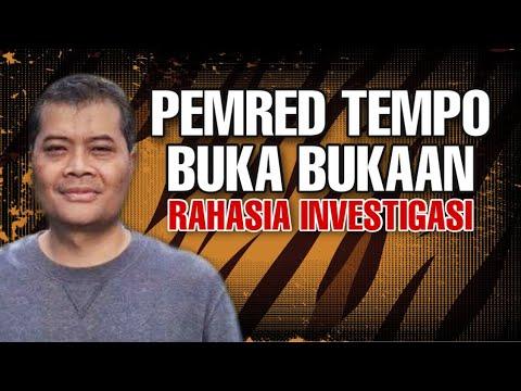 MENGEJUTKAN ‼️ Pimpinan Redaksi Bongkar Rahasia Investigasi