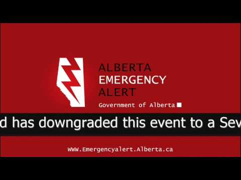Alberta Emergency Alert - Wed Jul 22 2:55 PM 2015