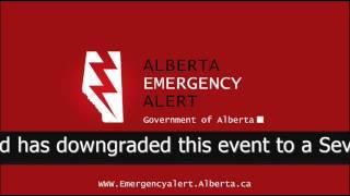 Alberta Emergency Alert - Wed Jul 22 2:55 PM 2015