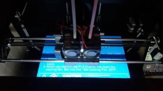 first print pikachu qidi technology 3dp qda16 01 dual extruder desktop 3d printer qidi tech i