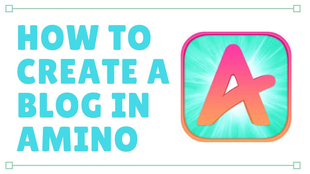 how to create your own amino