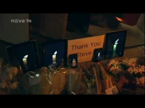 Steve Jobs - úmrtí ve zprávách NOVA