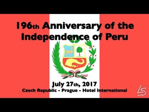 196.Anniversary of the Independence of Peru-Praha 27.7.2017