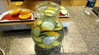 Lemon,Orange & Cucumber Detox Water Benefits by TheHourGlasslife