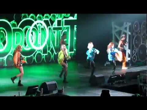Dont Stop The Music  2NE1 New Evolution NJ 120817
