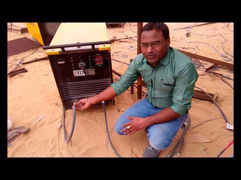 [Hindi] Shielded metal arc welding - Practical (प्रैक्टिकल )