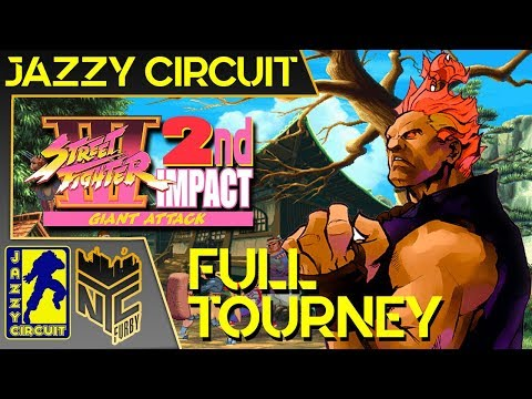 【Street Fighter III: 2nd Impact】Full Tournament @Jazzy Circuit May 2019 [4k/60fps]