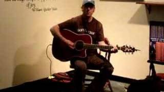 John Thomas Griffith - Always Leaving (acoustic) 2007-09-15