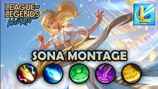 WILD RIFT: SONA Montage   Best Gameplays   Beta Test   League of Legends