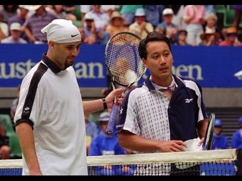 Michael Chang Vs Andre Agassi Highlight 1996 Ao Sf Youtube